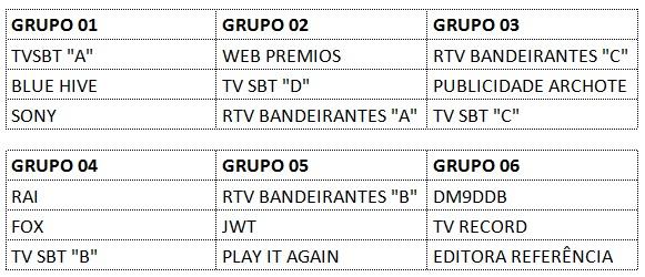 tabela jogos