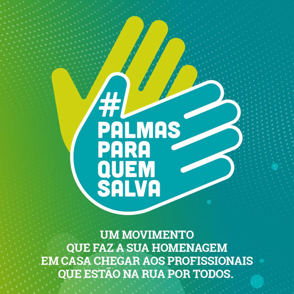#PalmasParaQuemSalva: Agência Sala se une a Prox Mídia para enaltecer o trabalho dos profissionais que estão na ruas por todos.