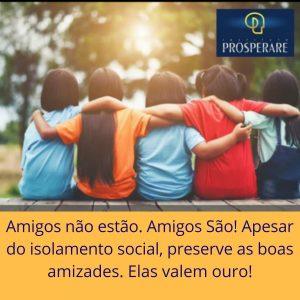 Instituto Prosperare publica mensagens motivacionais na sua Fanpage.