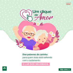 Campanha de apoio e solidariedade ao Lar dos Velhinhos Campinas.