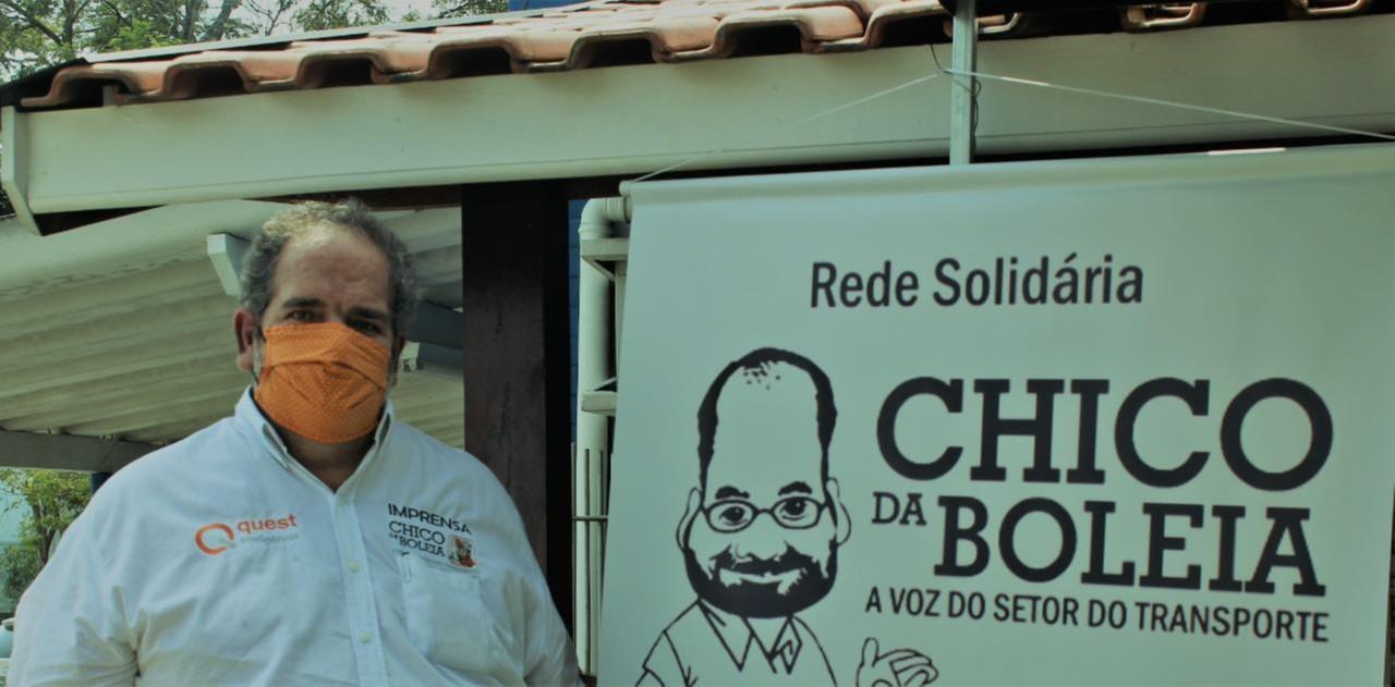 Rede Solidária Chico da Boleia mobiliza corrente de apoio aos caminhoneiros.
