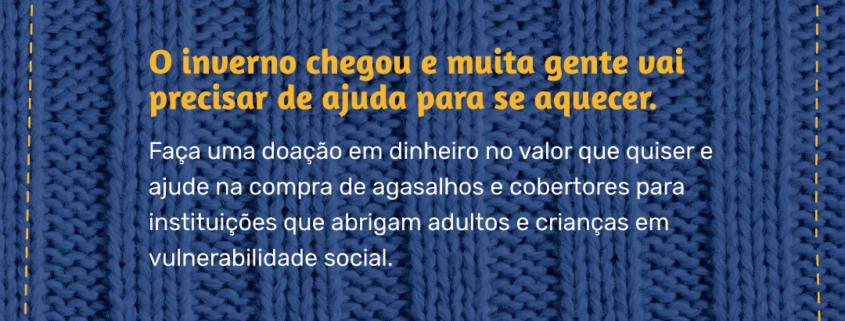 Fundação Toyota do Brasil inicia Campanha do Agasalho 2020